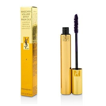 Yves Saint Laurent Mascara Volume Effet Faux Cils (Máscara Lujosa) - # 04 Fascinating Violet  7.5ml/0.25oz