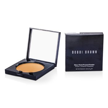 Bobbi Brown Sheer Finish Polvos Prensados - # 04 Basic Brown  11g/0.38oz