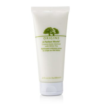 Origins A Perfect World Creamy Pembersih Tubuh Anti Oksidan dengan Teh Putih  200ml/6.7oz