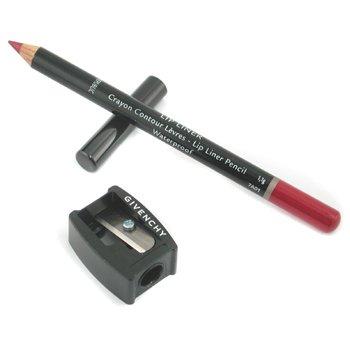Givenchy Lip Liner Lápiz Waterproof  - Perfilador de Labios Resistente al Agua (Con Sacapuntas ) - # 6 Lip Raspberry  1.1g/0.03oz