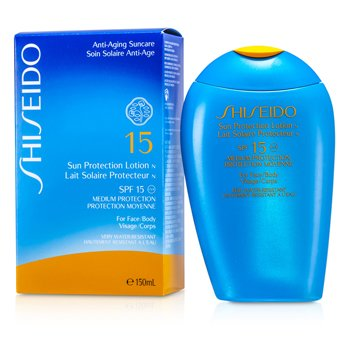 Shiseido მზისგან დამცავი ლოსიონი N SPF 15 (სახის და ტანისთვის)  150ml