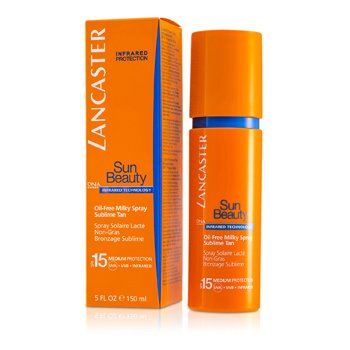 Lancaster Emulsja do opalania w sprayu Sun Care Oil-Free Milky Spray SPF 15  150ml/5oz