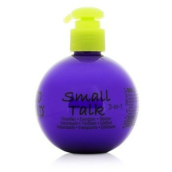 Tigi Bed Head Small Talk - 3 en 1 volumen, Energía y Estilo  200ml/8oz