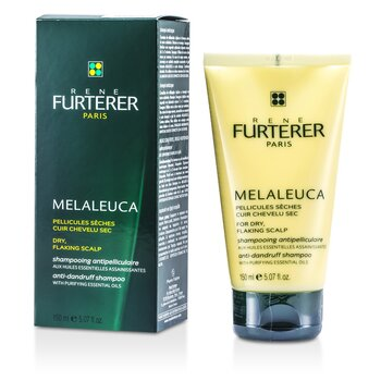 Rene Furterer Melaleuca Anti-Dandruff Shampoo (For Dry, Flaking Scalp)  150ml/5.07oz