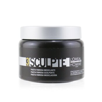 L'Oreal Professionnel Homme Sculpte - Sculpting Fibre Paste  150ml/5oz