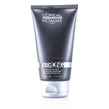 L'Oreal Professionnel Homme Strong - Gel Cengkraman Kuat  150ml/5oz