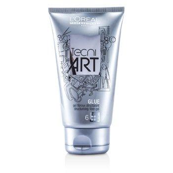 L'Oreal เจลแต่งผมไฟเบอร์ Professionnel Tecni.Art A Head Glue  150ml/5oz