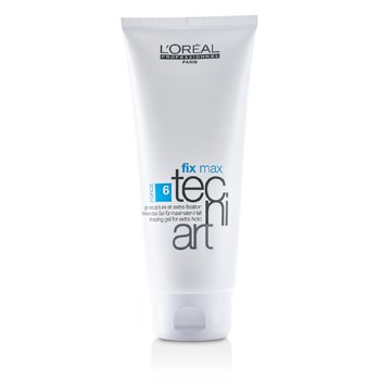 L'Oreal Professionnel Tecni.Art Fix Max Gel - Gel fijador  200ml/6.7oz