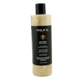 Philip B Anti-Flake Relief Shampoo (Heals & Soothes Dry or Oil, Flaky Scalp)  350ml/11.8oz