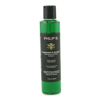 Philip B Peppermint & Avocado Volumizing & Clarifying Shampoo  220ml/7.4oz