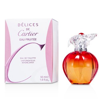 Cartier Delices de Cartier Eau Fruitee Agua de ColoniaVaporizador  50ml/1.6oz
