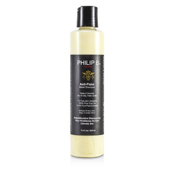 Philip B Anti-Flake Relief Shampoo (Heals & Soothes Dry or Oil, Flaky Scalp)  220ml/7.4oz