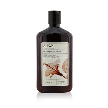 Ahava Mineral Botanic Jabón Crema Aterciopelado - Hibiscus & Fig ( Piel muy Seca )  500ml/17oz