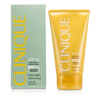 Clinique Body Cream SPF 30 UVA/ UVB  150ml/5oz