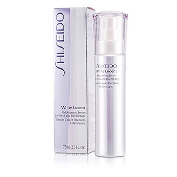 Shiseido White Lucency Perfect Radiance Brightening Serum For Neck & Decolletage  75ml/2.5oz
