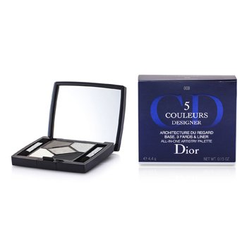Christian Dior 5 Color Designer All In One Artistry Palette - No. 008 Smoky Design  4.4g/0.15oz