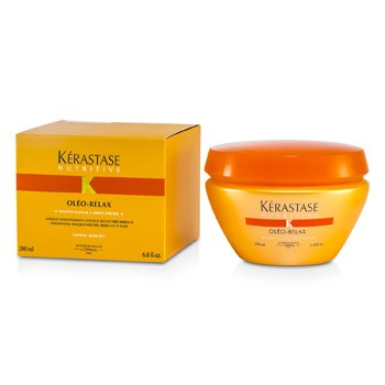 Kerastase Kerastase Nutritive Oleo-Relax Smoothing Mask ( Dry & Rebellious na Buhok )  200ml/6.8oz