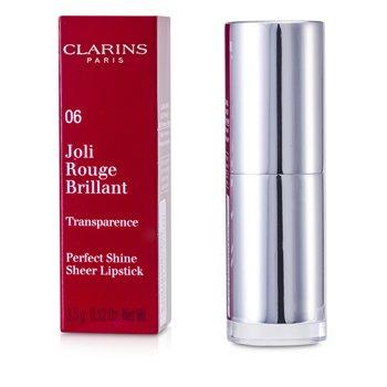 Clarins Joli Rouge Brillant (Perfect Shine Sheer Lipstick) - # 06 Fig  3.5g/0.12oz