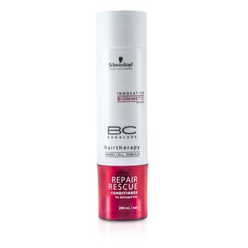 Schwarzkopf Condicionador BC Repair Rescue Reparador  200ml