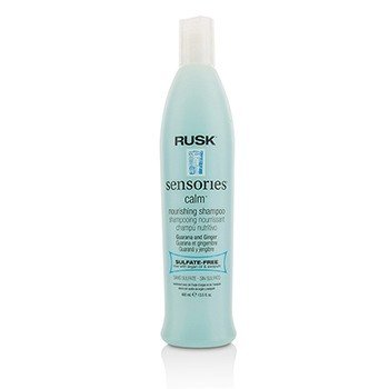 Rusk Sensories Calm Guarana and Ginger Nourishing Shampoo  400ml/13.5oz