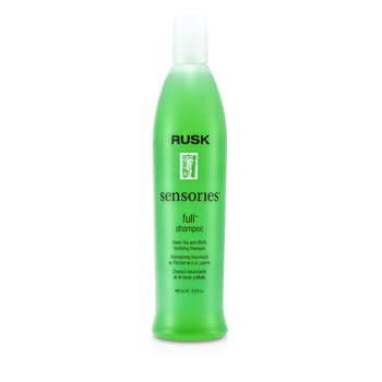 Rusk Sensories Full Green Tea and Alfalfa Bodifying Shampoo  400ml/13.5oz