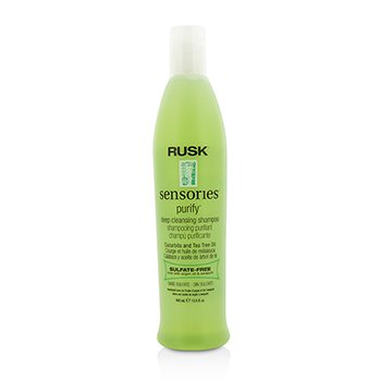 Rusk Sensories Purify Cucurbita og Tea Tree Olje Dyptrensende Shampo  400ml/13.5oz