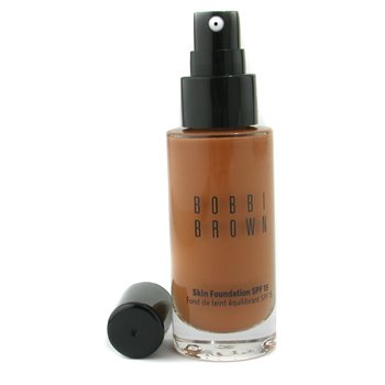Bobbi Brown Skin Foundation SPF 15 - Alas Bedak - # 6.5 Warm Almond  30ml/1oz
