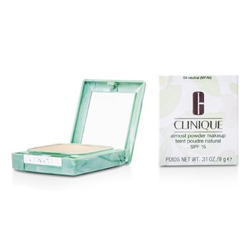 Clinique Puder prasowany Almost Powder MakeUp SPF 15 - No. 04 Neutral (nowe opakowanie)  13g/0.45oz