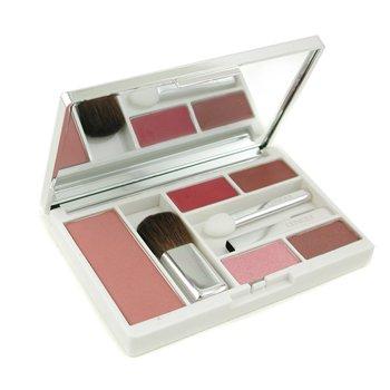 Clinique Compact Colour Paleta Maquillaje ( Colorete Polvos + 2x Pintalabios + Sombra de Ojos Duo 3x Aplicadores )