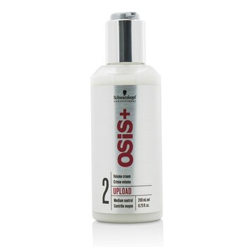 Schwarzkopf Osis+ Upload Lifting Crema Volumen ( Control Medio )  200ml/6.67oz