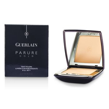 Guerlain Parure Gold Rejuvenating Golden Radiance Powder Foundation SPF 10 - # 02 Beige Clair  9g/0.31oz