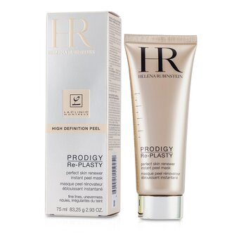 Helena Rubinstein Prodigy Re-Plasty High Definition Peel Perfect Skin Renewer Instant Peel Mascara facial  75ml/2.5oz