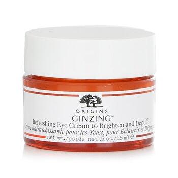 Origins GinZing Crema Ojos Refrescante y Anti hinchazón  15ml/0.5oz