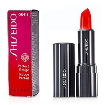 Shiseido Batom Perfect Rouge - OR418 Day Lily  4g/0.14oz