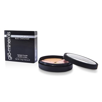 GloMinerals GloShimmer Brick (Highlight Powder) - Luster  7.4g/0.26oz