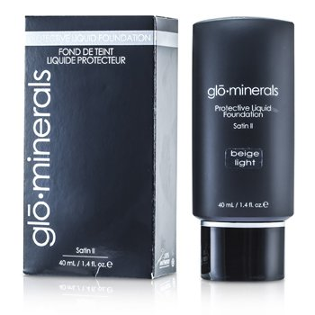 GloMinerals GloProtective Oil Free Liquid Foundation Satin Finish - Beige Light  40ml/1.4oz