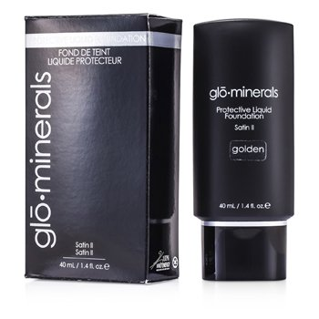 GloMinerals GloProtective Oil Free Liquid Foundation Satin Finish - Golden  40ml/1.4oz