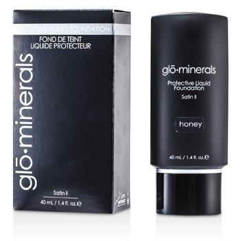GloMinerals GloProtective Base Maquillaje Libre Aceites Acabado Satinado - Honey  40ml/1.4oz