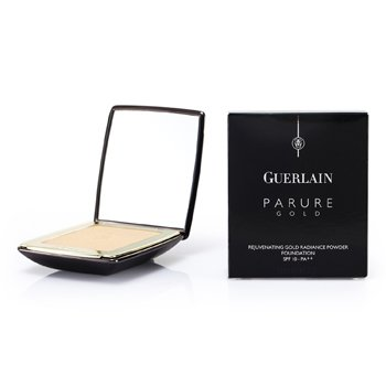 Guerlain Parure Gold Rejuvenating Golden Radiance Powder Foundation SPF 10 - # 01 Beige Pale  9g/0.31oz