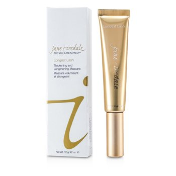 Jane Iredale Longest Lash Thickening & Lengthening Mascara - Longitud y Volumen - Slate Grey  12g/0.42oz