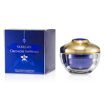 Guerlain Orchidejový krém na krk a dekolt Orchidee Imperiale Exceptional Complete Care Neck & Decollete Cream  75ml/2.6oz