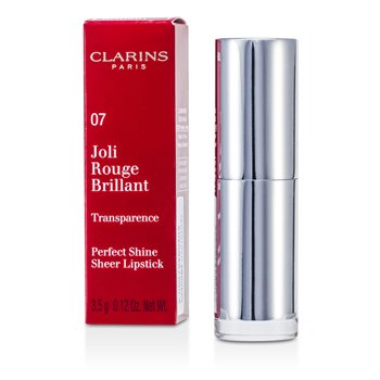 Clarins Joli Rouge Brillant (Perfect Shine Sheer Lipstick) - # 07 Raspberry  3.5g/0.12oz