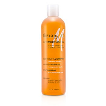 Therapy-g SuperMoistureShine - Champú Hidratante ( Cabellos Secos, Dañados y Químicamente Dañados )  350ml/12oz