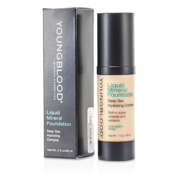 Youngblood Base Liquida Mineral - Sun Kissed  30ml/1oz