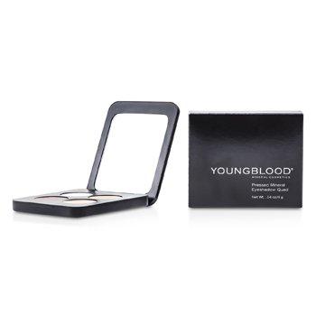 Youngblood Cuarteto Sombra de Ojos Minerales Prensadas - Timeless  4g/0.14oz