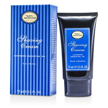 The Art Of Shaving Crema Afeitado - Aceite Esencial de Lavanda  75ml/2.5oz