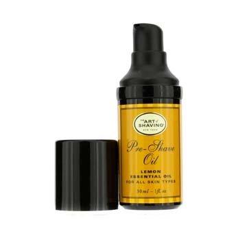 The Art Of Shaving Pre Shave Oil - Lemon Essential Oil (Travel Size, Pump, For All Skin Types)  30ml/1oz