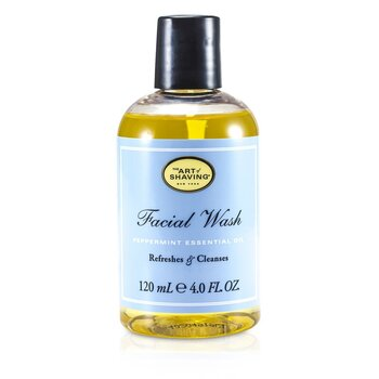 The Art Of Shaving Facial Wash - Peppermint Essential Oil (For Sensitive Skin)  120ml/4oz