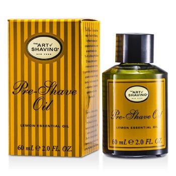 The Art Of Shaving Óleo p/ antes de barbear  - Limão Óleo essêncial ( para Todos os tipos de pele )  60ml/2oz
