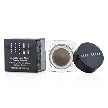 Bobbi Brown Metallic Long Wear Crema Color Ojos - # 04 Brown Metal  3.5g/0.12oz